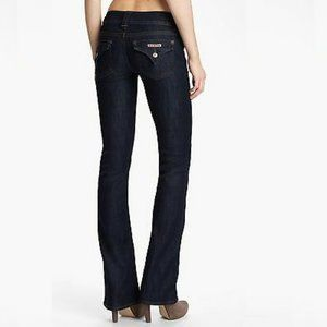 HUDSON Signature Bootcut  Whisked Blue Jeans